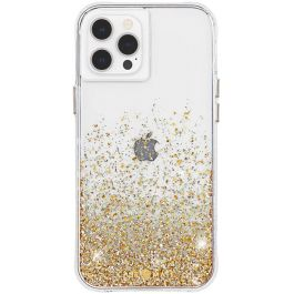 Case-mate - iPhone 12 Pro Max - Twinkle Ombré - Gold w/ Micropel