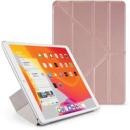 Pipetto iPad 10.2 Origami Case PC (2019) - Rose Gold