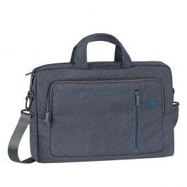 "RivaCase 7530 Laptop Canvas shoulder bag 15.6"" / 6 - Grey"