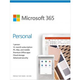 Microsoft 365 Personal English Middle East DM Subscr 1YR Medialess P6