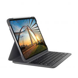 Logitech - Slim Folio Pro for iPad Pro 12.9-inch (3rd generation) - Black