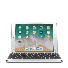 Brydge - Aluminium Bluetooth Keyboard for 5th Gen iPad, iPad Air, iPad Air 2 & iPad Pro 9.7-inch - Silver