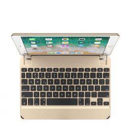 Brydge - Aluminium Bluetooth Keyboard for 5th Gen iPad, iPad Air, iPad Air 2 & iPad Pro 9.7-inch - Gold
