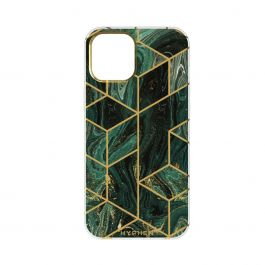 HYPHEN Marble Case - Forest Green - iPhone 12 / iPhone 12 Pro