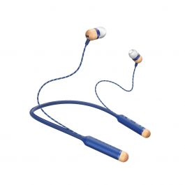 House of Marley - Smile Jamaica Bluetooth In-Ear Headphone - Denim