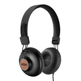 EM-JH121-SB|House of Marley Positive Vibration 20 - Signature Black - On-Ear Headphone|سماعات رأس Positive Vibration 20، أسود، من هاوس أوف مارلي
