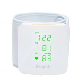 iHealth - View Wrist Blood Pressure Monitor with Bluetooth Connectivity for Android & IOS