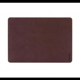 Incase Textured Hardshell in NanoSuede for 13-inch MacBook Pro - Thunderbolt 3 (USB-C) - Merlot