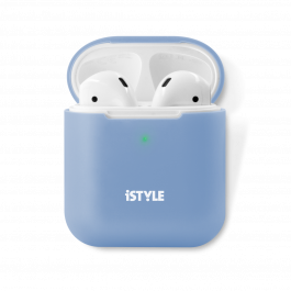 iSTYLE Silicone Cover AirPods 2nd Gen blue
