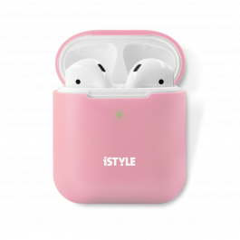 iSTYLE Silicone Cover AirPods 2nd Gen pink