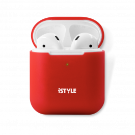 iSTYLE Silicone Cover AirPods 2nd Gen red