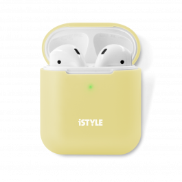iSTYLE Silicone Cover AirPods 2nd Gen yellow