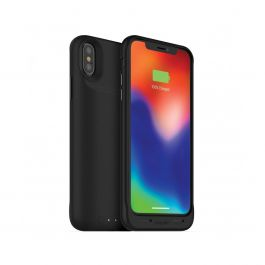 Mophie - iPhone XS/X Juice Pack Air 1,720 mAh Battery Case - Wl Charge -  Black