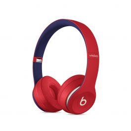 Beats - Solo3 Wireless Headphones – Beats Club Collection – Club Red