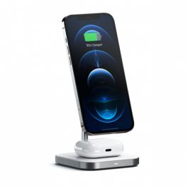 Satechi - Magnetic 2-in-1 Wireless Charging Stand - Space Gray