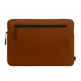 Incase Compact Sleeve in Flight Nylon for 13-inch MacBook Pro - Thunderbolt 3 (USB-C) and 13-inch MacBook Air with Retina Display - Deep Orange
