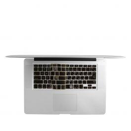"EZQuest Arabic/English Keyboard cover for MacBook, MacBook Air 13"" & MacBook Pro US/ISO - Black"
