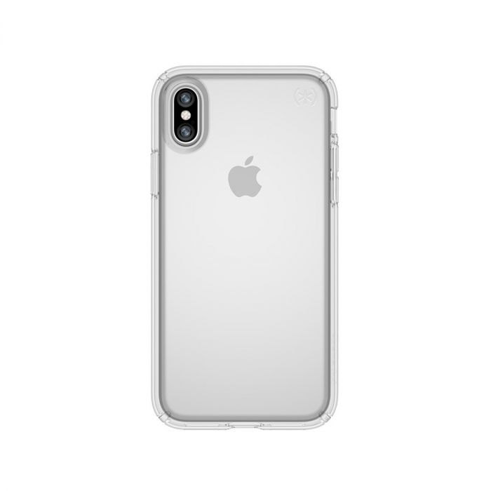 super popular a3be5 3d25f Speck - Presidio Clear for iPhone X - Clear