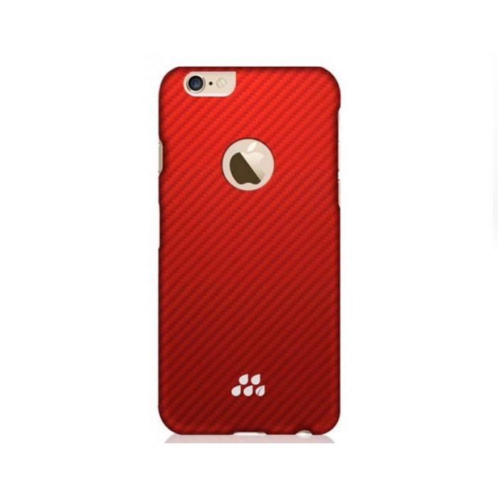 new style ac0f2 e59c0 Evutec Karbon Slim Lorica Case for iPhone 6S/6 - Red