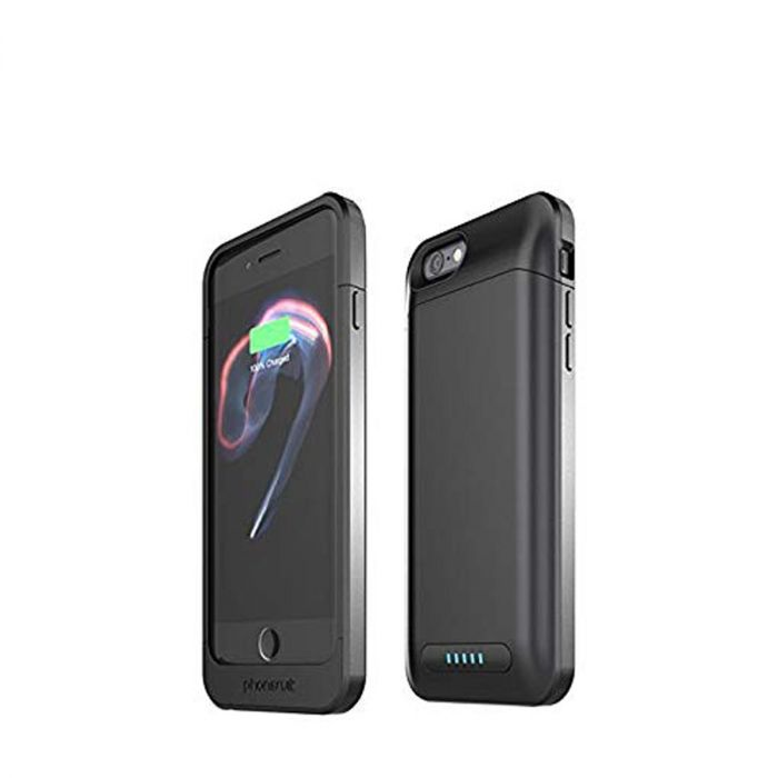 online store bc7c0 f5eac Phonesuit Elite Pro Battery Case for iPhone 7/8 - Black