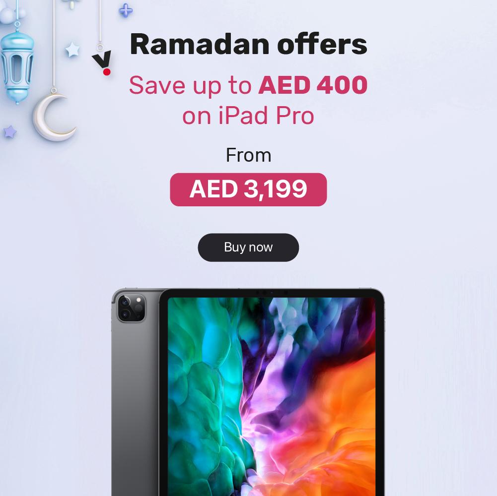 iPad Pro offer