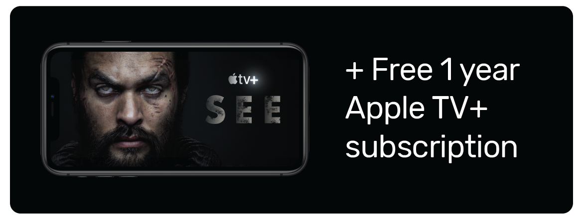 Free 1 year Apple TV+ subscription